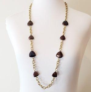 Vintage Anne Klein Necklace Sweater Necklace
